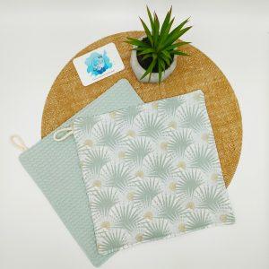 Essuie-tout feuilles de palmiers